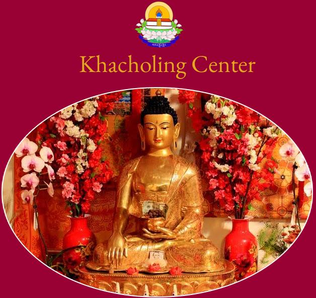 Khacholing Center Alter Shakyamuni Buddha